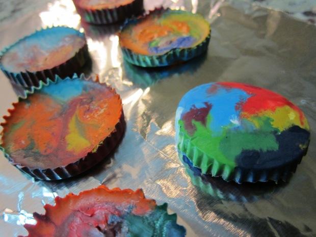 Rainbow Crayons (5)