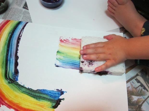 Rainbow Painting (2)