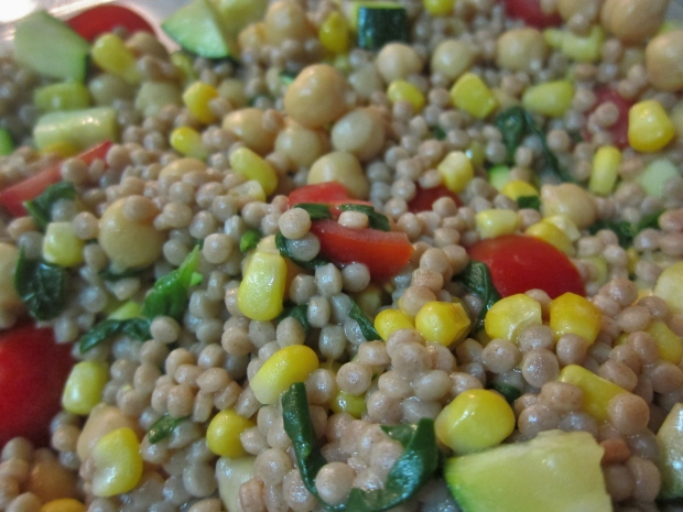 Rainbow Couscous Salad
