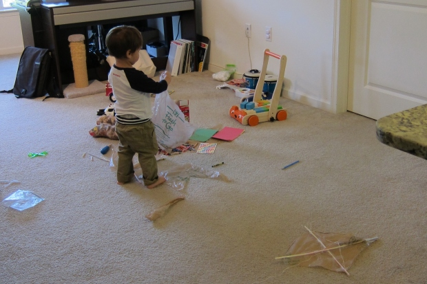 Plastic Bag Kite (1)