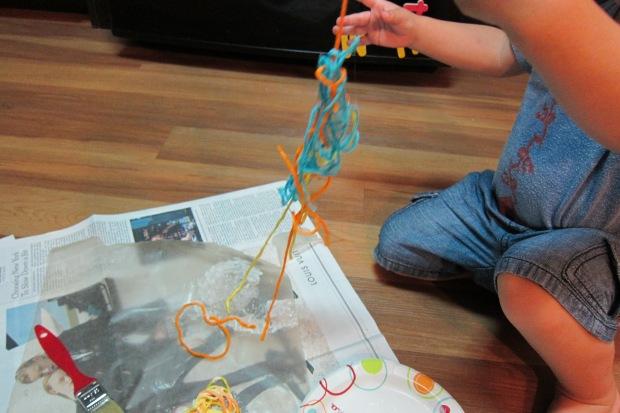 Yarn Sculpture (2)