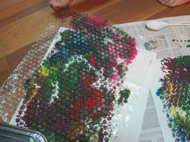 Bubble Wrap Paint (5)