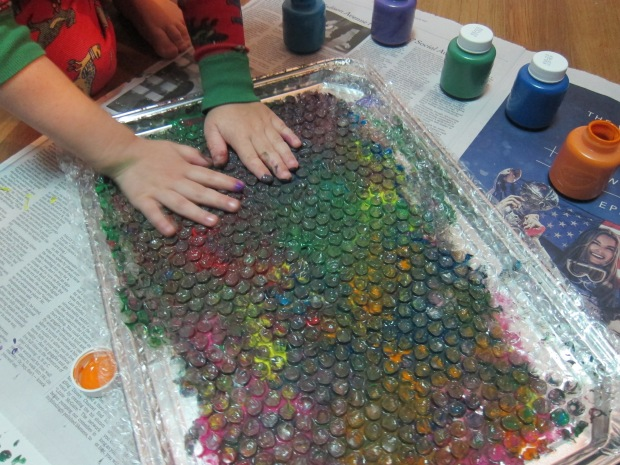 Bubble Wrap Paint (6)