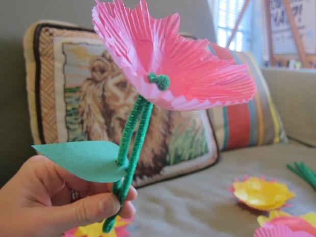 Cupcake Flower (4)