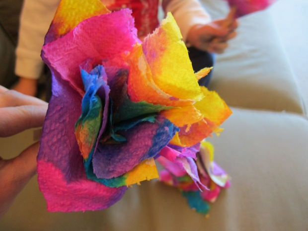 Paper Towel Flowers (9)
