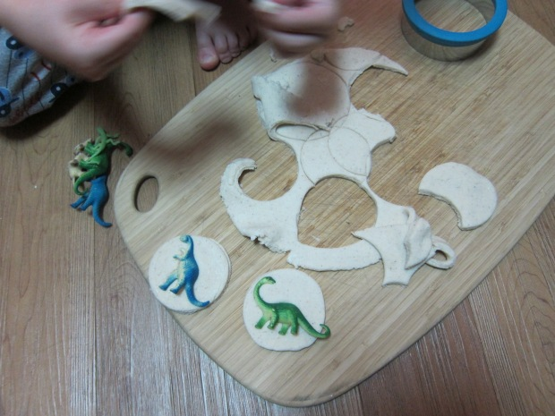 Salt Dough Fossil (3)