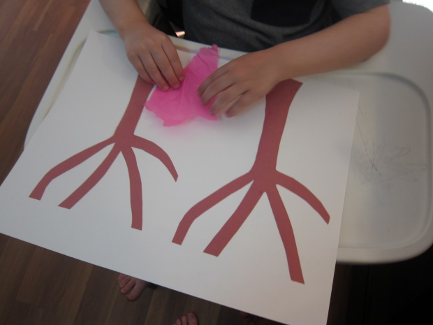 Tissue Paper Tree (3)