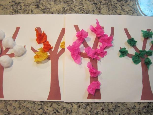 Tissue Paper Tree (6)