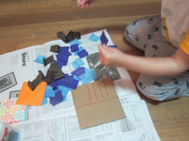 Cardboard Post (1)