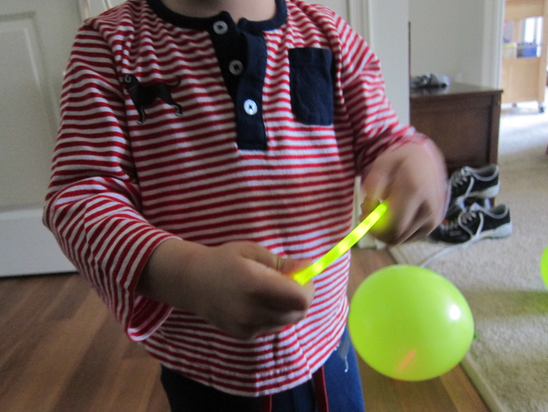 Glow Stick Balloon (5)