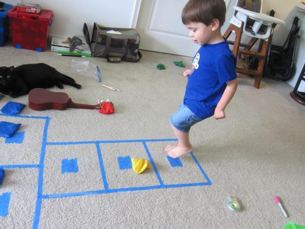 Indoor Hopscotch (4)