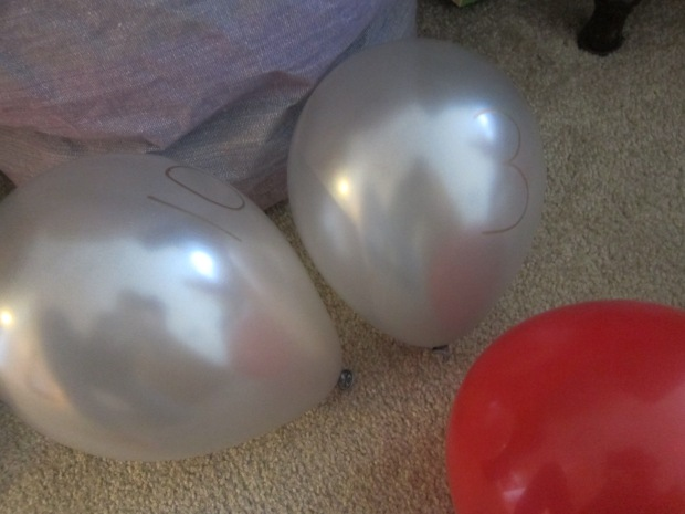 Numbered Balloon (2)