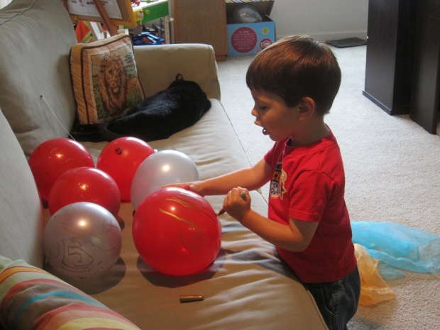 Numbered Balloon (8)