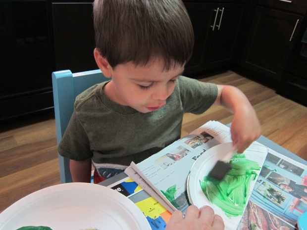 Paper Plate Frog (1)