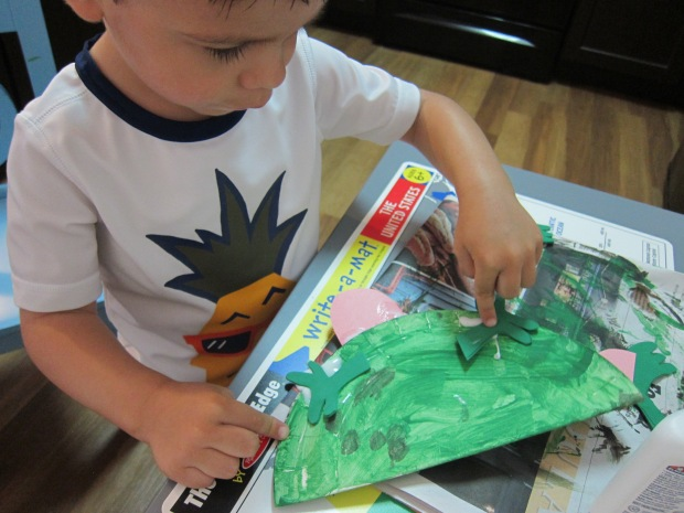 Paper Plate Frog (4)