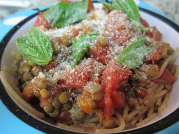 Spaghetti Lentil (2)