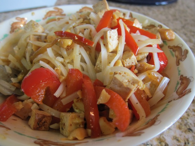 Peanut Noodles with Tofu (2)