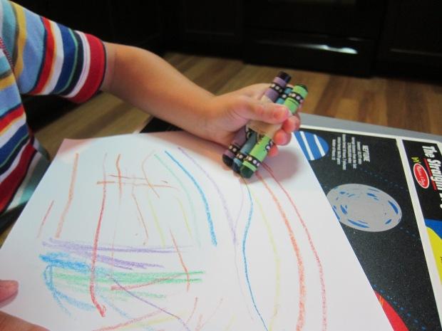 Rainbow Crayons (3)