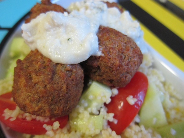 Meatballs with Couscous Salad