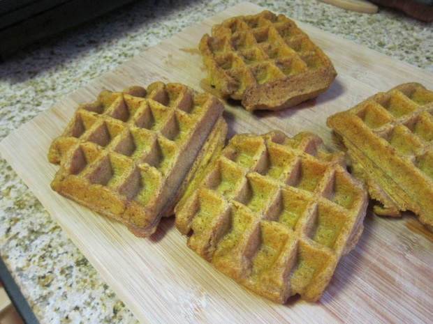 Pumpkin Waffles (4)