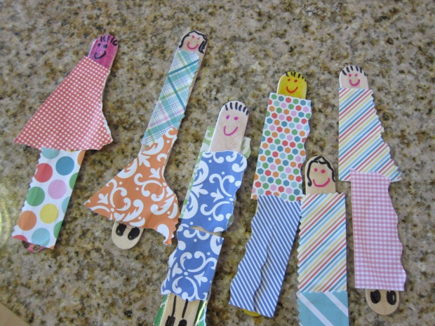 Craft Stick Dolls (12)