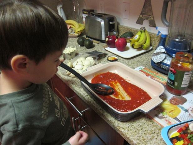 Pretend Lasagna (1)