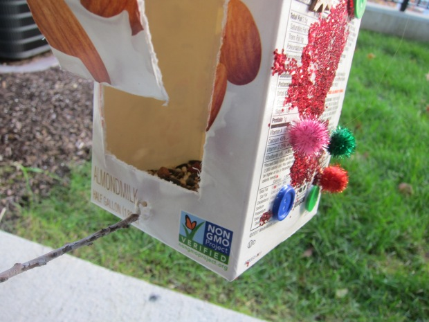 Recycled Bird Feeder (4)