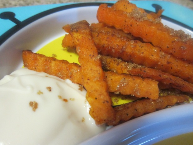 CInnamon Sweet Potato Fries