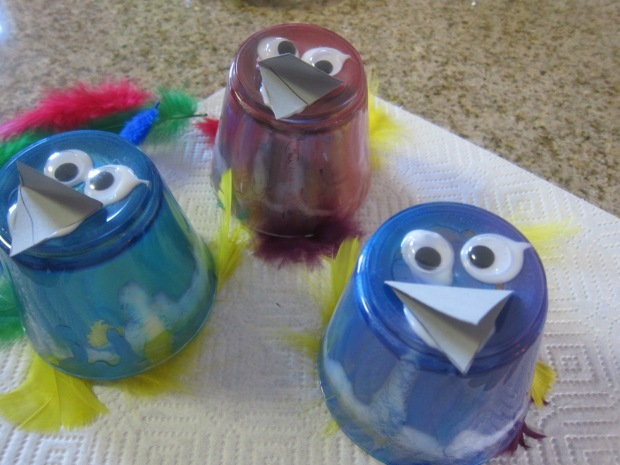 Bird Puppets (3)