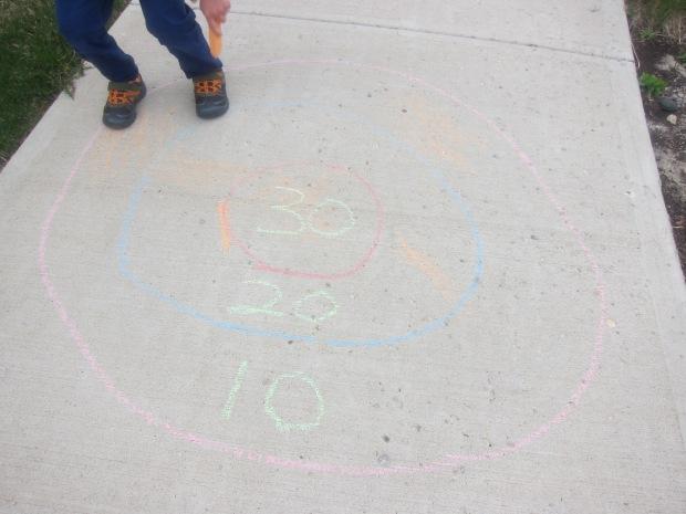 Chalk Bullseye (2)