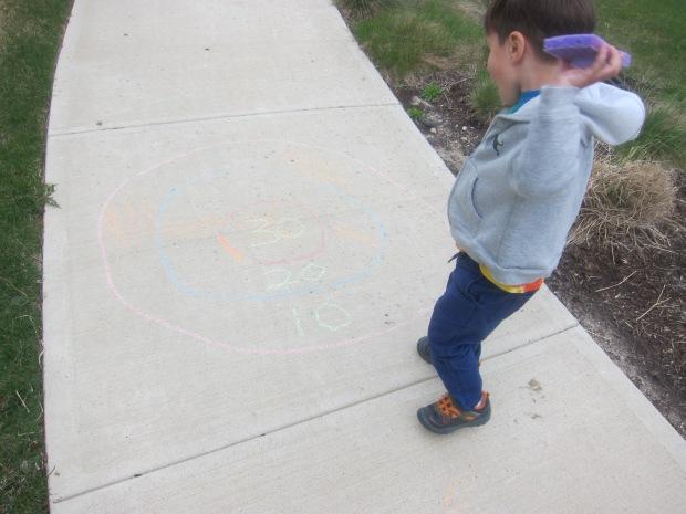Chalk Bullseye (3)