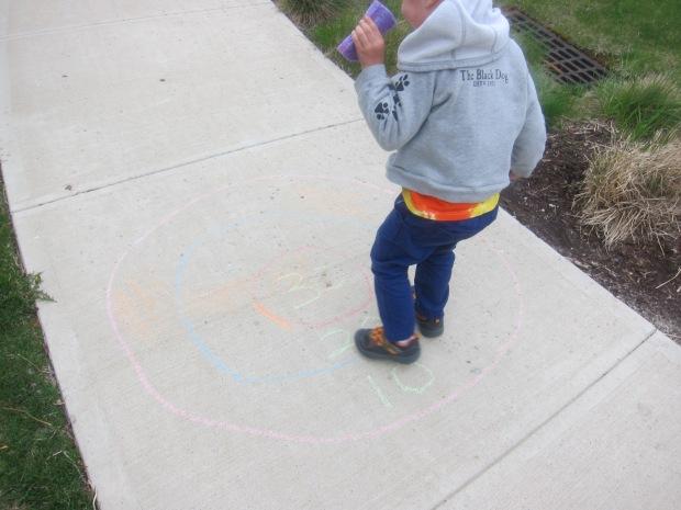 Chalk Bullseye (4)