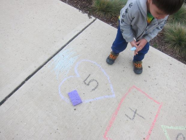 Chalk Bullseye (6)