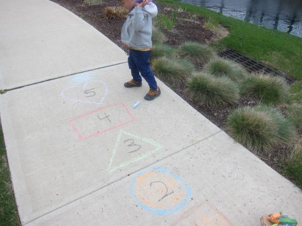 Chalk Bullseye (7)