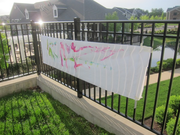 Paint on Fence (5)