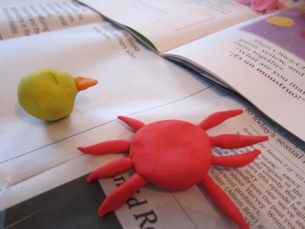 Clay Animals (3)