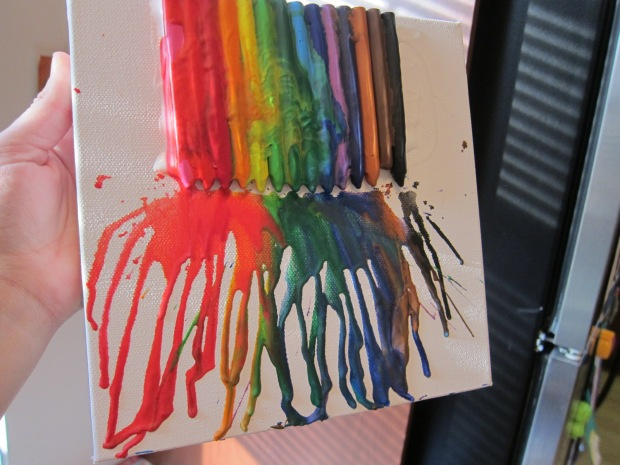 Melted Crayon (5)