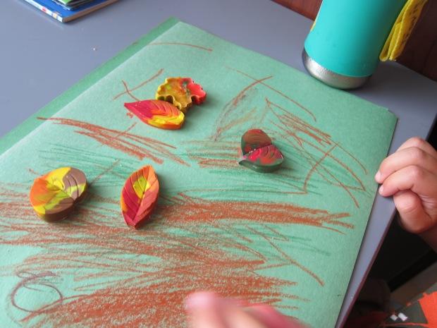 Leaf Crayons (7)