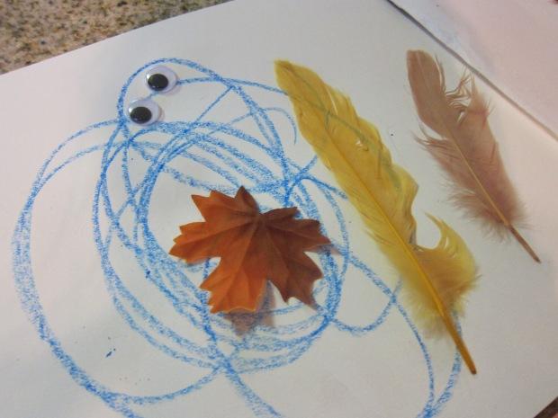 Leaf Drawings (5)