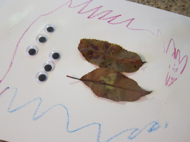 Leaf Drawings (6)