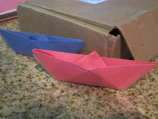 Origami Boat (10)
