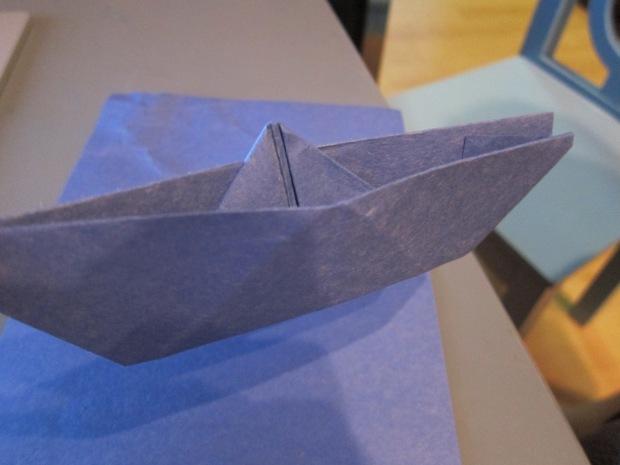 Origami Boat (8)