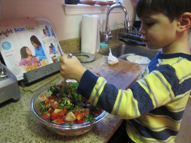 Bright Bean Salad (5)