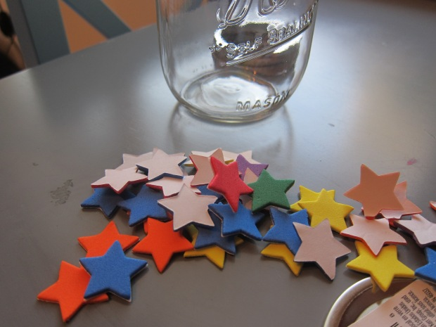 painted star jar (1)