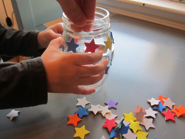 painted star jar (2)