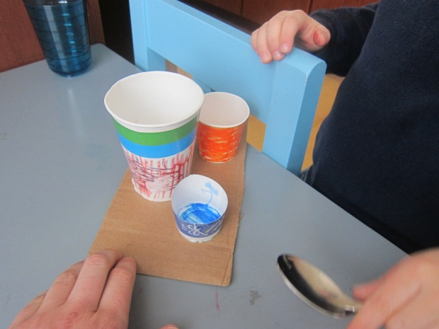 Paper Cup Drums (5)