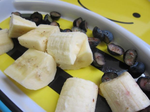 Banana Blueberry Salad