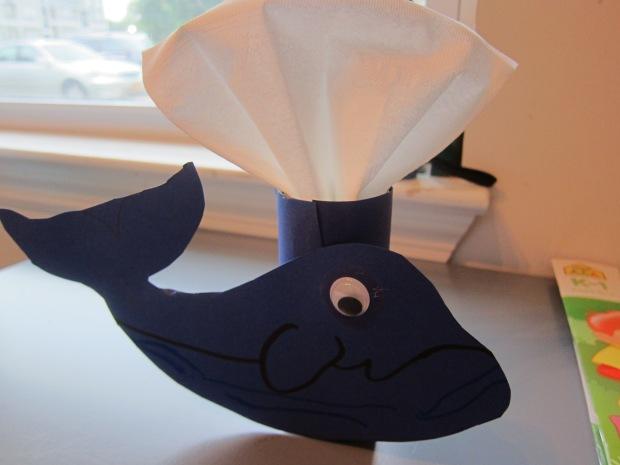 Whale Napkin (4)