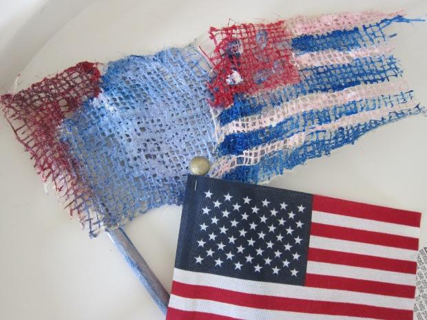Burlap Flags (7)