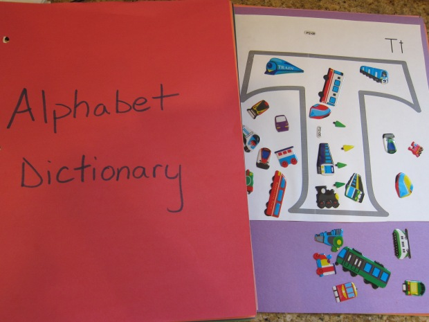 Alphabet Dictionary (9)